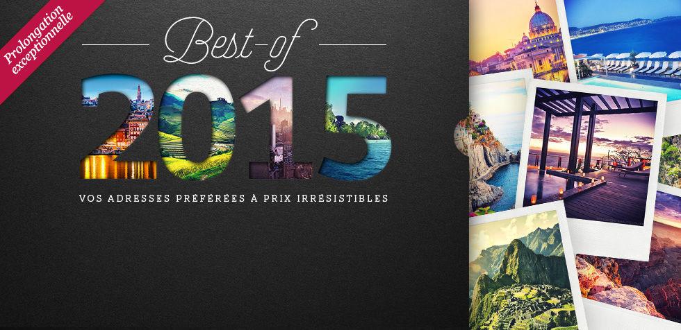 Découvrez le best-of 2015 de Voyage Privé