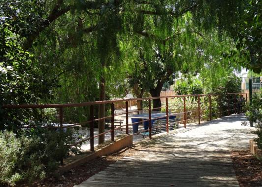 La Pascalinette : le camping au centre de la végétation