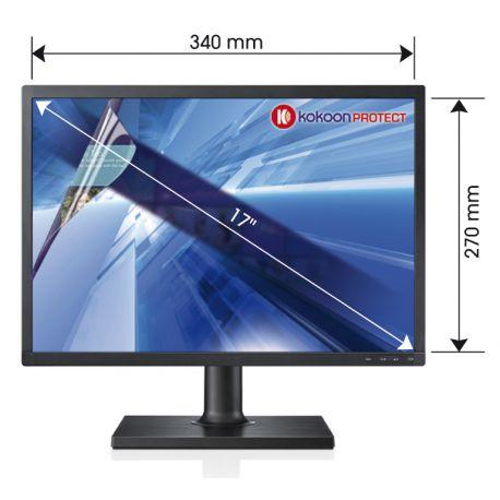 Un filtre pour écran PC anti lumière bleue de  BlueCat Screen….