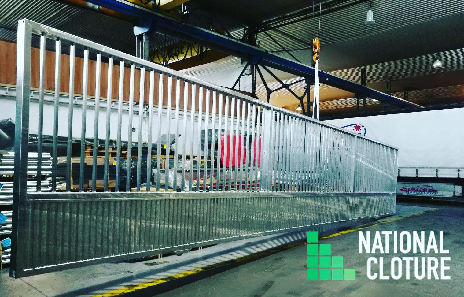 National Clôture se lance dans la fabrication de portails et portillons